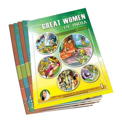 Great Women of India Volumes 1 - 5
