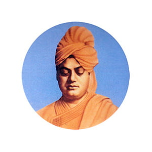Swami Vivekananda Novelty Badge (3 x 3 cm)