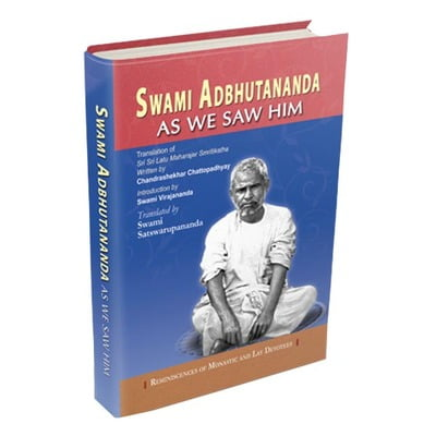 Swami Adbhutananda As We Saw Him