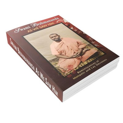 Swami Brahmananda As We Saw Him