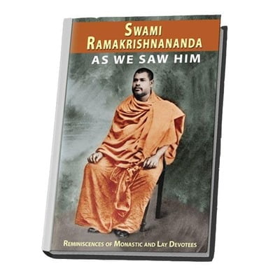 Swami Ramakrishnananda as We Saw Him
