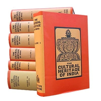 The Cultural Heritage of India Volumes 1 - 6